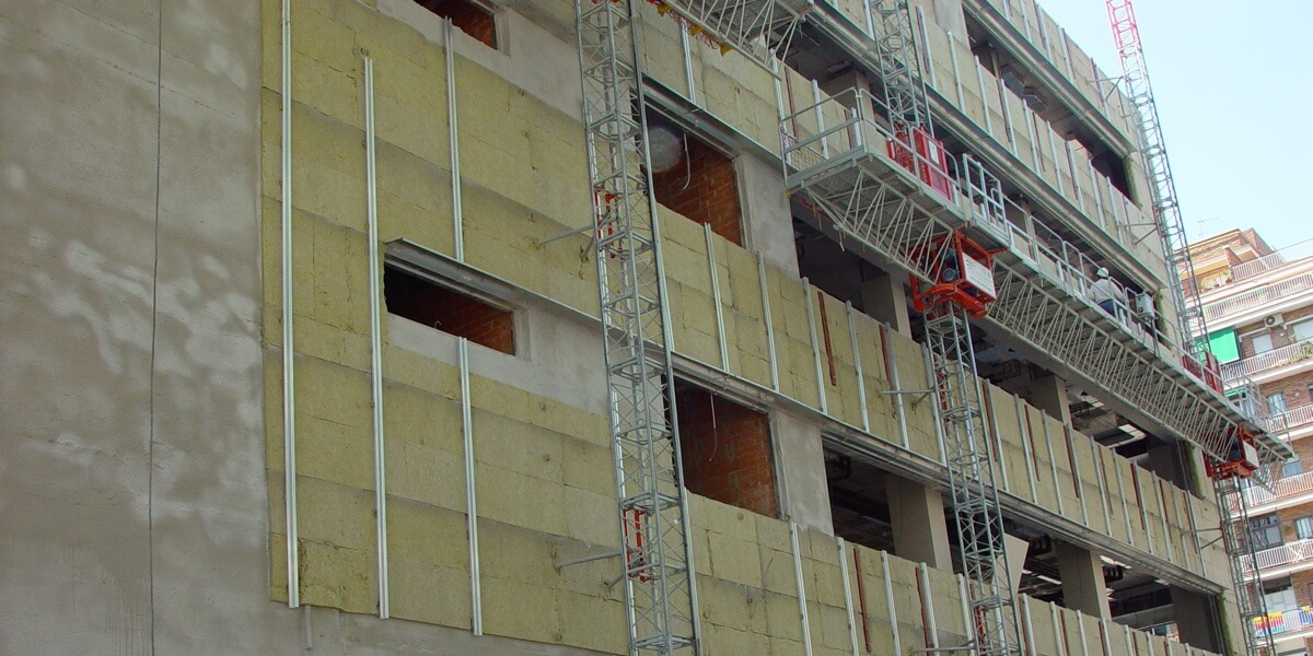 Fachada ventilada: edifiación