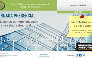 Jornada técnica sobre soluciones de monitorización para salud estructural