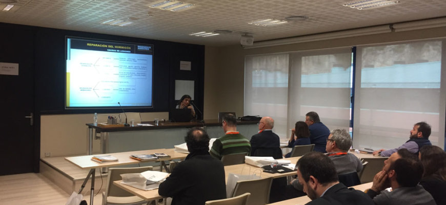 Ingenieros Asesores celebra una jornada divulgativa sobre la reparación del hormigón
