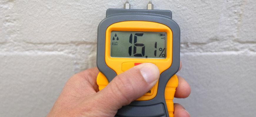 Diagnóstico y solución de humedades en edificios