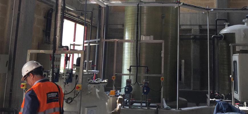 Proyectos de almacenamiento de productos químicos en la industria