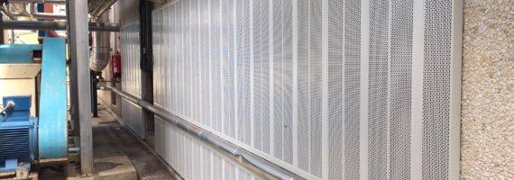 Medidas correctoras para reducir los niveles de ruido en fábrica de cintas adhesivas