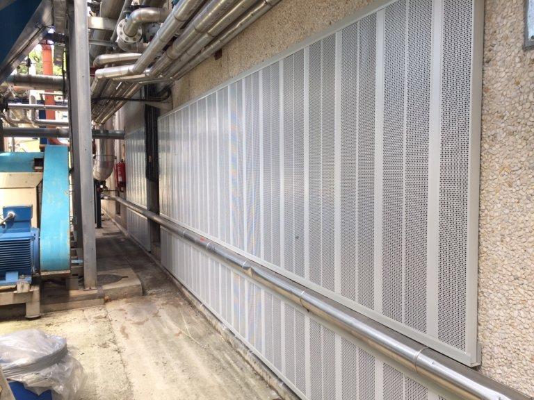 Medidas correctoras para reducir los niveles de ruido en la fábrica de «UBIS CINTAS ADHESIVAS S.A.»
