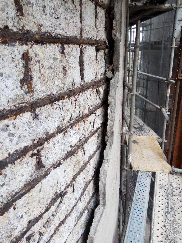 Análisis estructural de silo de hormigón armado