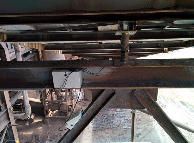 Monitorización de deformaciones en cintas transportadoras