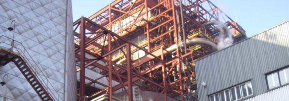 Inspección estado actual estructura metálica