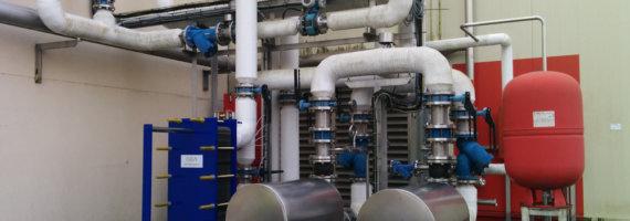 Proyecto reforma instalación climatización sala llenado y almacenes