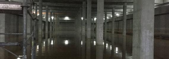 Patología depósito de agua en Oviedo