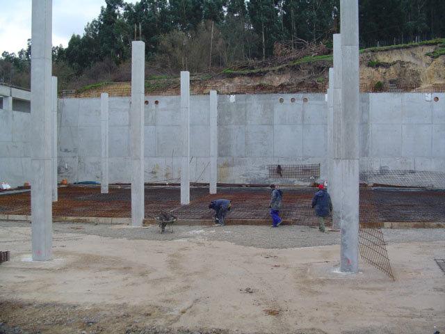 Inspección de control de calidad en depósito de agua