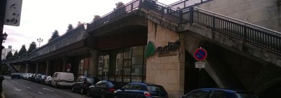 Patología de cubierta edificio servicios múltiples Adif