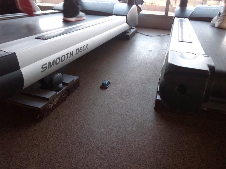 Instrumentación para la observación continuada de vibraciones en forjado de sala de gimnasio