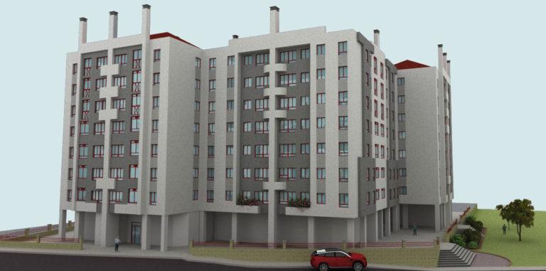 Proyecto de ejecución de fachada ventilada