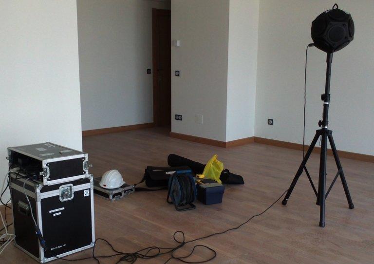 Medición acústica en Gijón