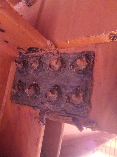 Estudio patológico de la cubierta nave planta de alúmina