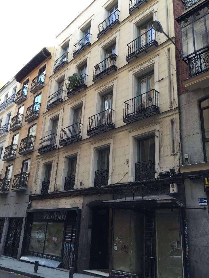 Estudio estado actual estructura y cimentación edificio viviendas en Madrid