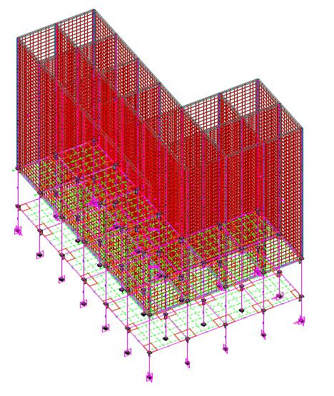 Estudio de estado actual de la estructura del edificio de silos