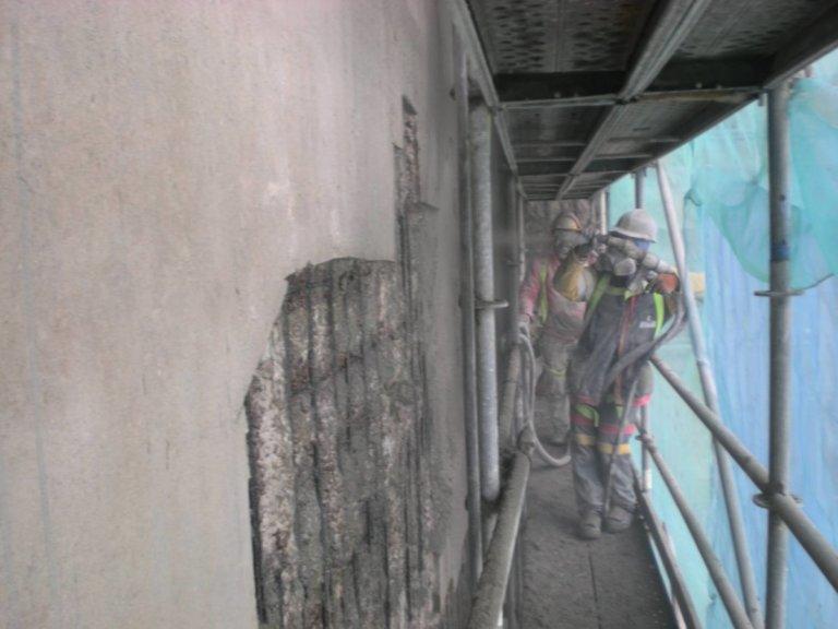 Estudio de estado actual del edificio de silos de composición de fábrica de vidrio
