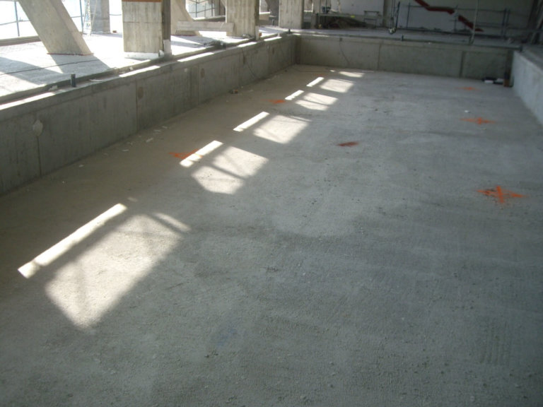 estructura de piscina interior centro deportivo