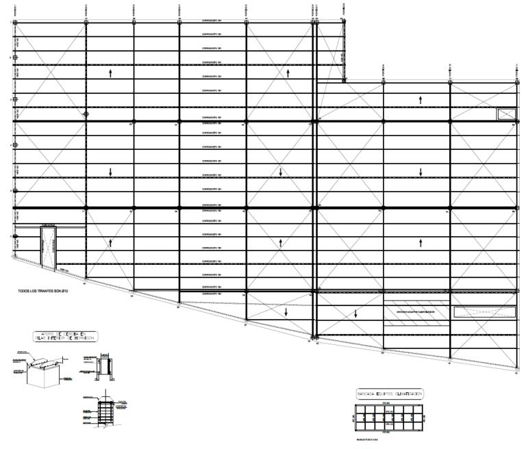 diseño cimentación y estructura para edificio de supermercado