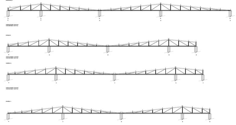 Cálculo de cimentación y estructura para edificio de supermercado