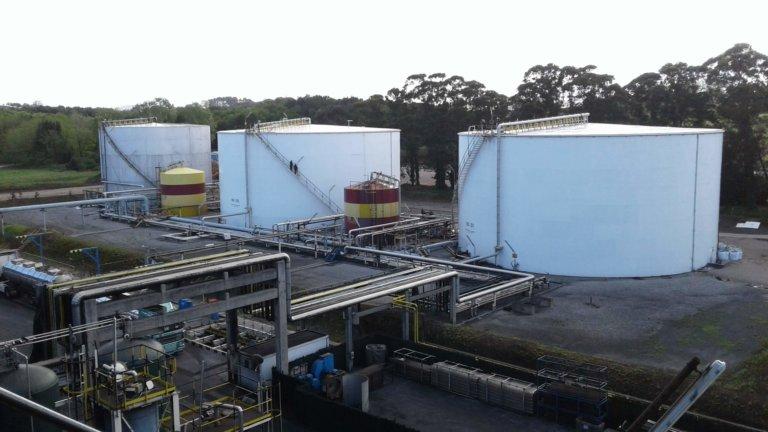 mantenimiento estructural en empresa carbonera