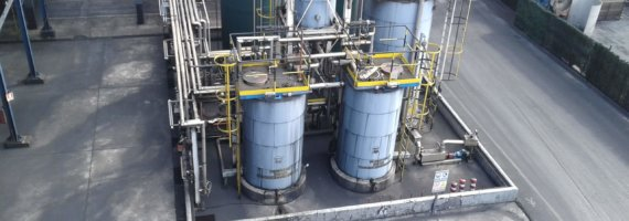 Plan de mantenimiento estructural en empresa carbonera