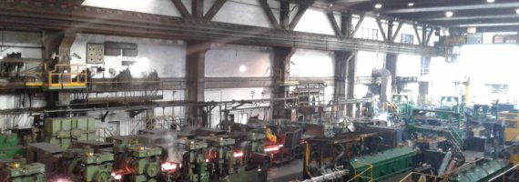 Plan de mantenimiento estructural en empresa siderúrgica