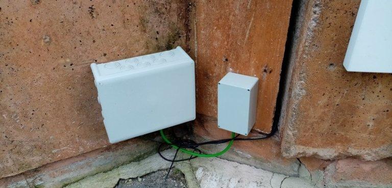 Monitorización y seguimiento en continuo de muro de contención