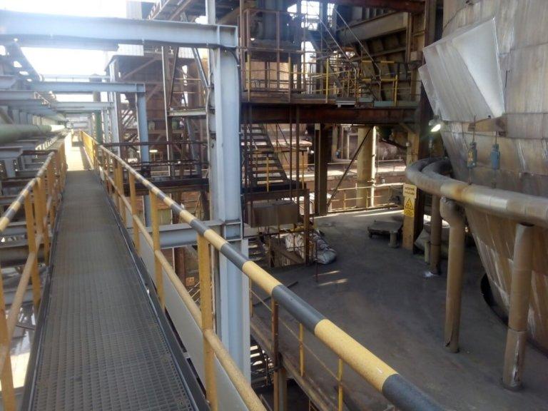 Ampliación de la instalación de aire comprimido de sopladores para hornos y calderas