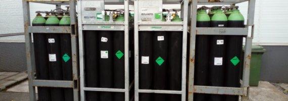 Proyecto de almacenamiento de productos químicos para planta industrial de fabricación de sistemas de almacenaje (Asturias)