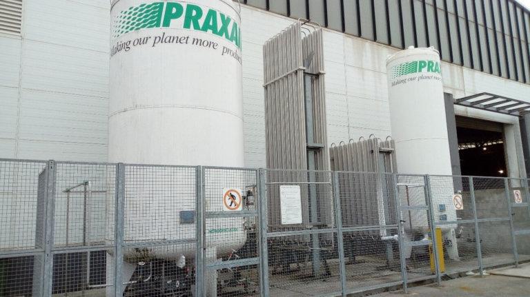 Proyecto de almacenamiento de productos químicos para planta de fabricación de sistemas de almacenaje en Asturias