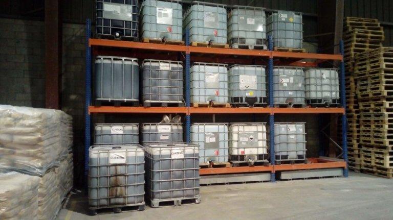 Proyecto de almacenamiento de productos químicos en fábrica de materiales refractarios (Asturias)