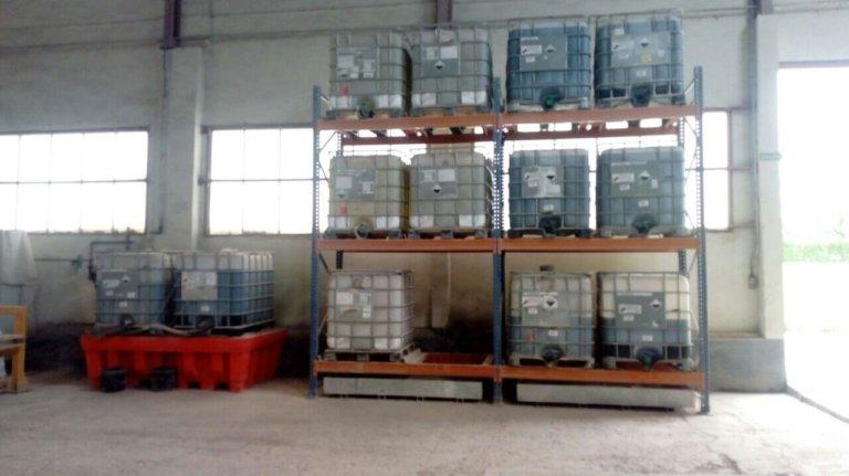 Proyecto de almacenamiento de productos químicos en una fábrica de materiales refractarios (Asturias)