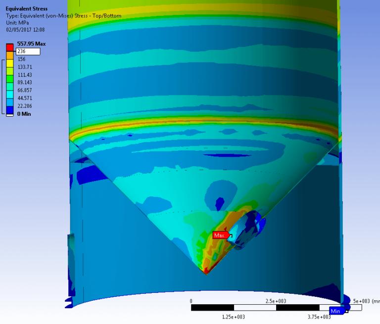 Proyecto de reparación de tanque de almacenamiento de fluido industrial: estudio
