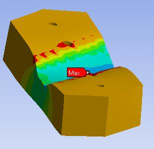 Estudio de los railes de un puente grúa en nave de fundición: detalles análisis