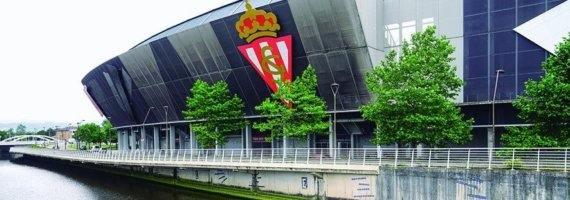 Dirección de obra para rehabilitación de fachada estadio El Molinón