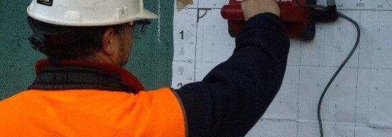 Detección de armaduras en pórticos