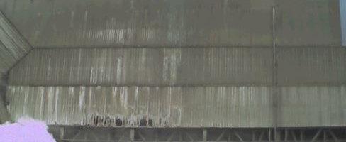 Control térmico estructura nave