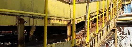 Inspección cintas transportadoras industria