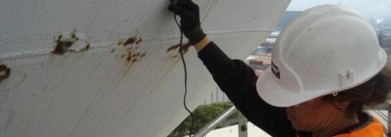 Inspección castillete de agua