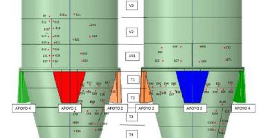 Inspección silos mineral