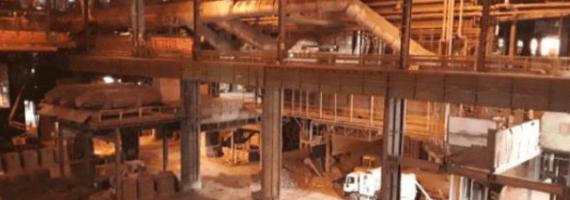 Inspección vigas carrilera y vigas de acompañamiento de puentes grúa de gran tonelaje