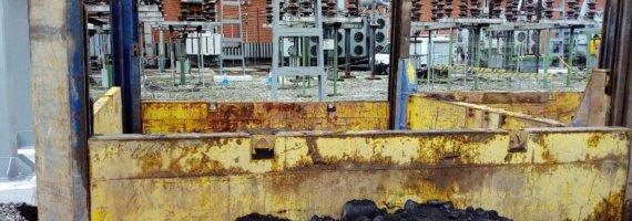 Proyecto de depósito enterrado para recogida de aceite de autotransformador